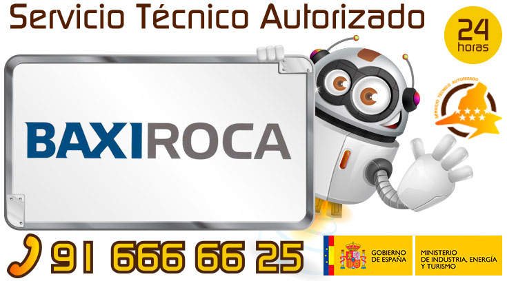Servicio tecnico BaxiRoca Madrid