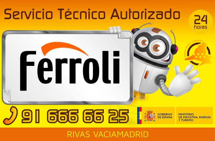 Servicio tecnico Ferroli Rivas Vaciamadrid