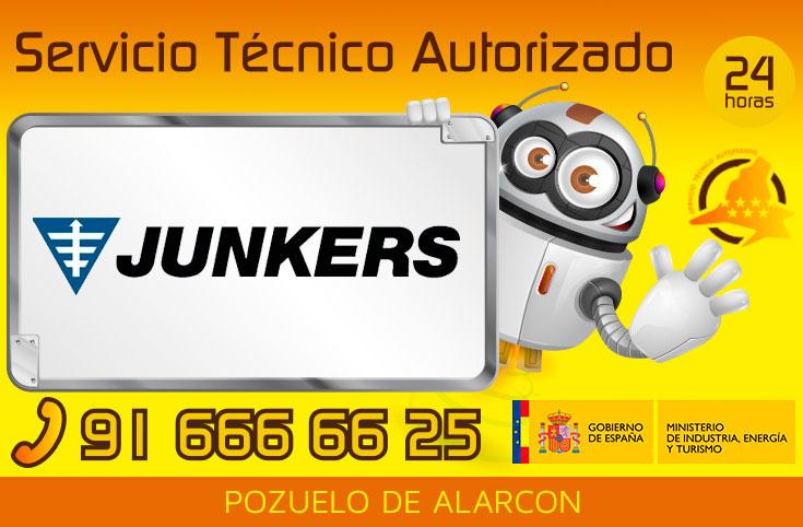 Servicio tecnico Junkers Pozuelo de Alarcon