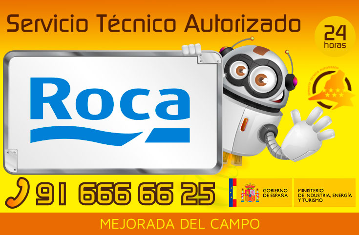 Servicio tecnico calderas Roca Mejorada del Campo
