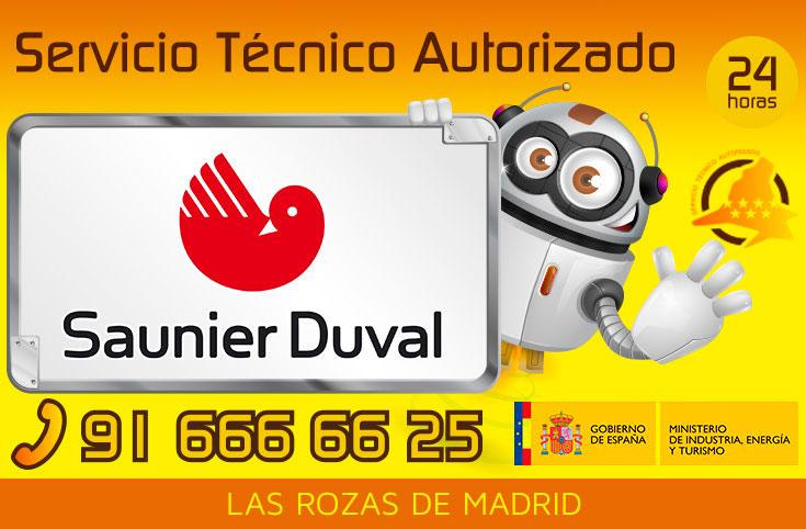Servicio tecnico Saunier Duval Las Rozas de Madrid