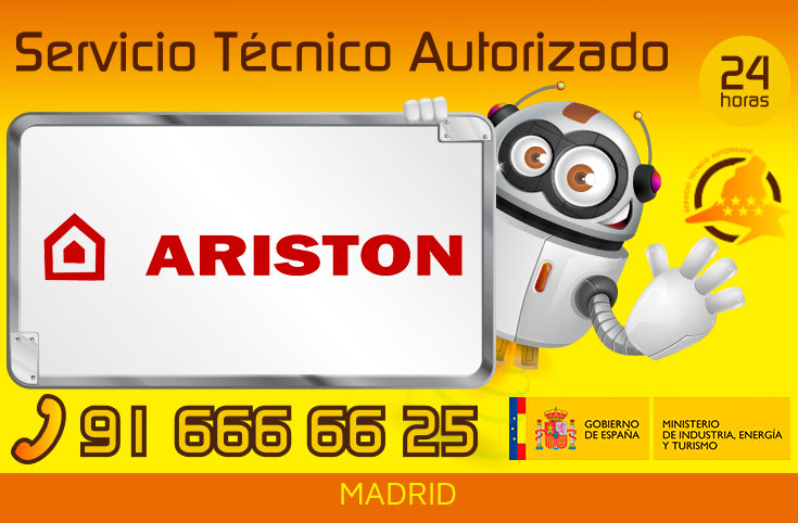 Servicio Tecnico Calderas Ariston Madrid