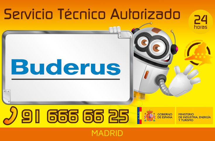 Servicio Técnico Calderas Buderus Madrid
