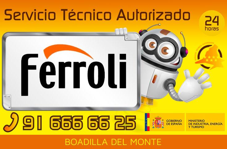 Servicio t cnico calderas ferroli en boadilla del monte 91 for Tecnico calderas