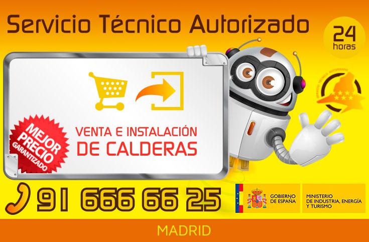 Venta e instalación de calderas en Madrid