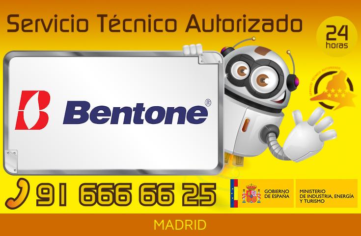 Servicio Técnico Quemadores Bentone en Madrid