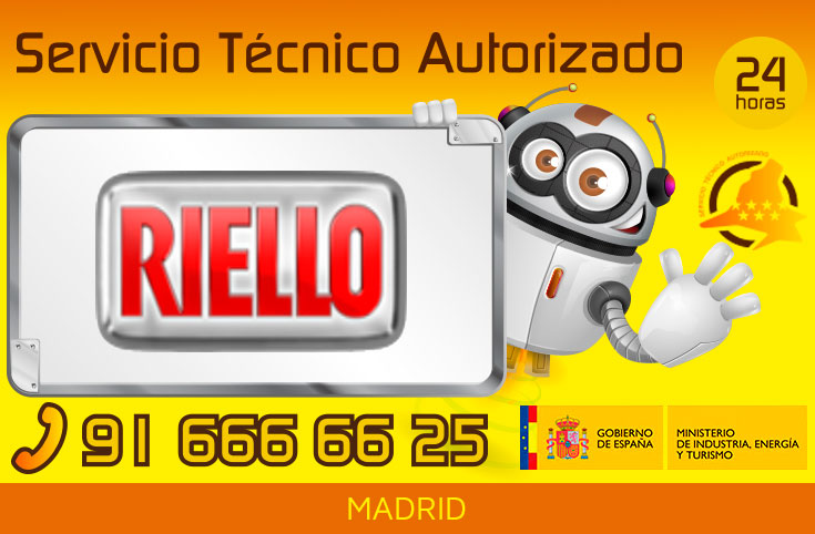 Servicio Técnico Riello en Madrid