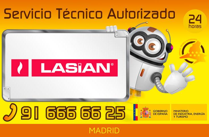 Servicio Técnico Calderas Gasoil y Pellets Lasian en Madrid