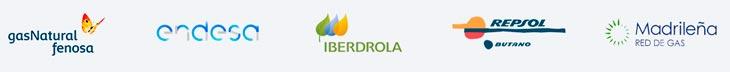 Compañías suministradoras de gas en Madrid