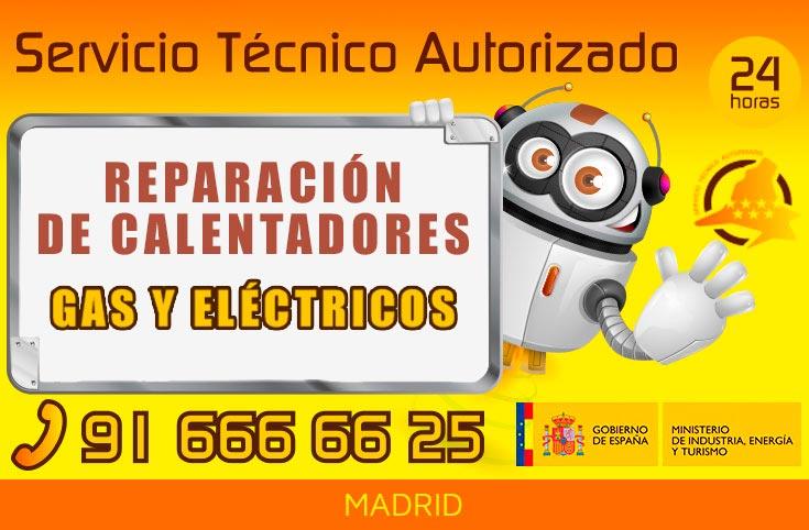reparación de calentadores en Madrid