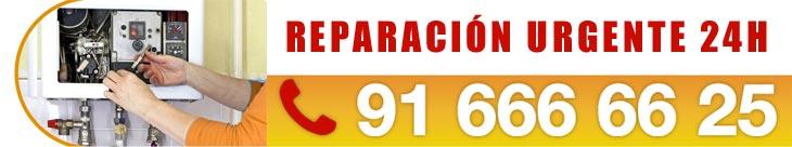 oficina central servicio técnico urgente de calentadores de gas o eléctricos en Madrid