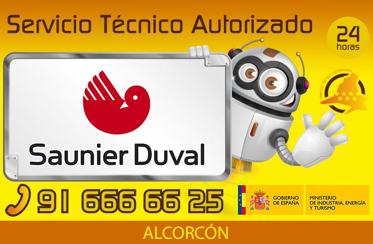 Servicio técnico calderas Saunier Duval en Alcorcón